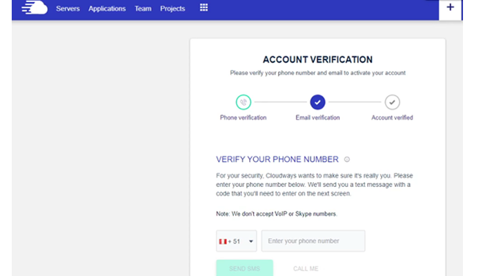 cloudways-second-step-verification