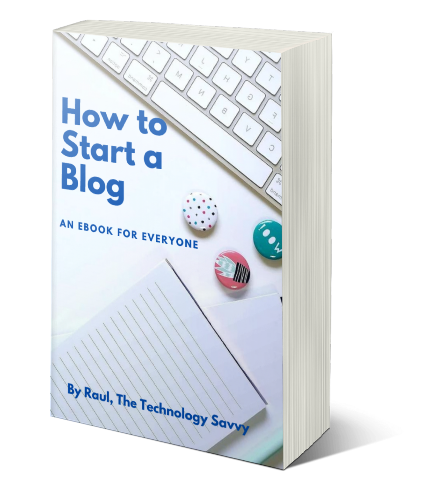 how to start a blog cover