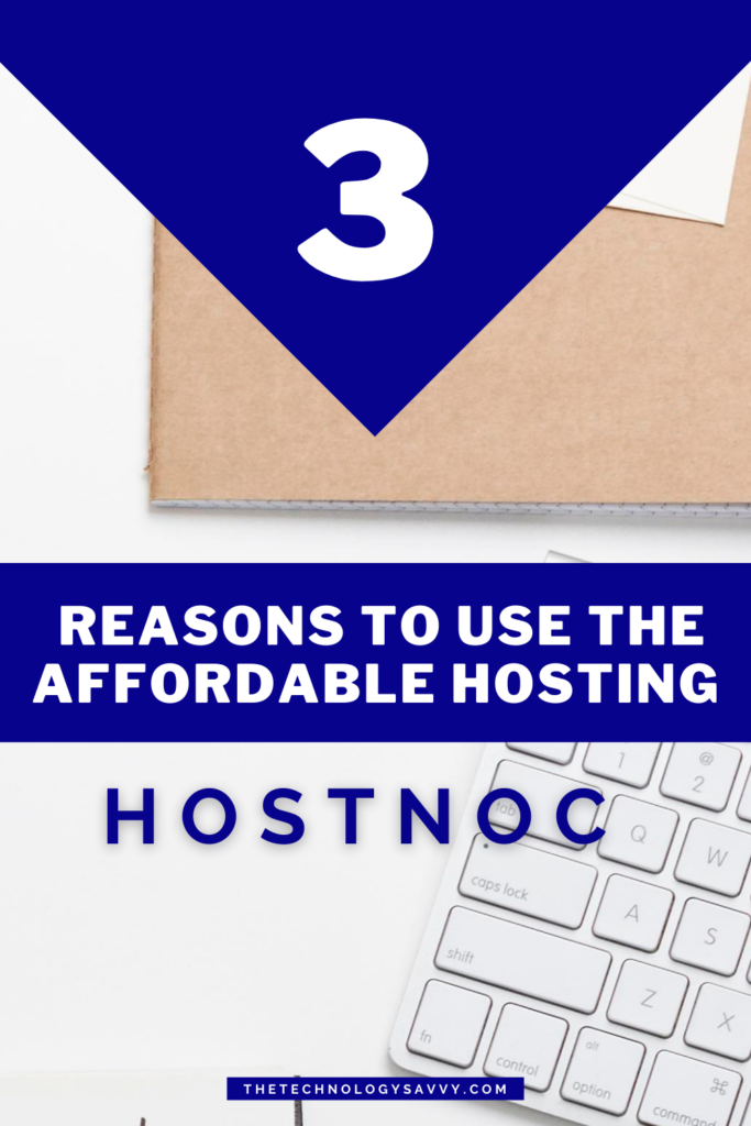 Pinterest The Technology Savvy HostNoc Review. A great value for your money