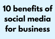 the technology savvy 10 benefits of social media for business