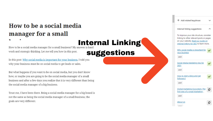 the technology savvy interntal linking suggestions yoast seo premium