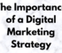 the technology savvy The Importance of a Digital Marketing Strategy