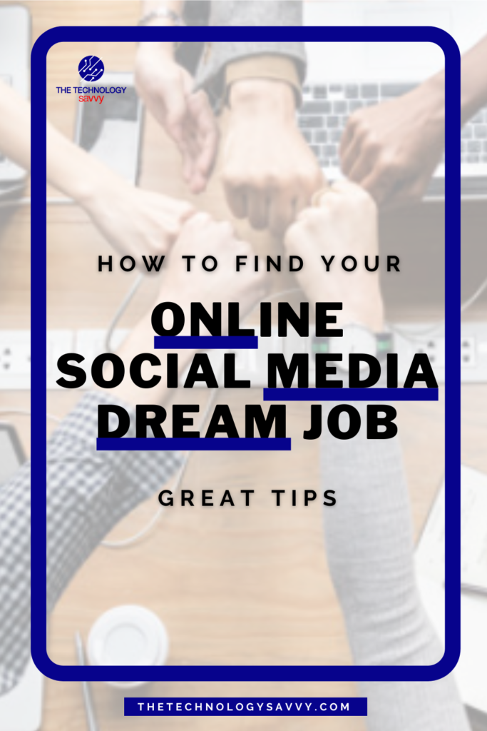 Pinterest The Technology Savvy How to find online Social Media Jobs