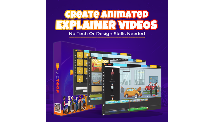 The Technology Savvy Vidtoon explainer video