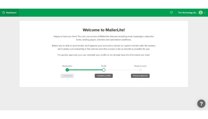the technology savvy mailerlite welcome